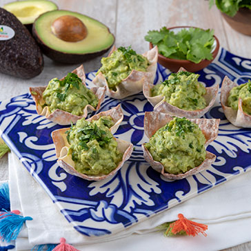 Guacamole Cups for 2