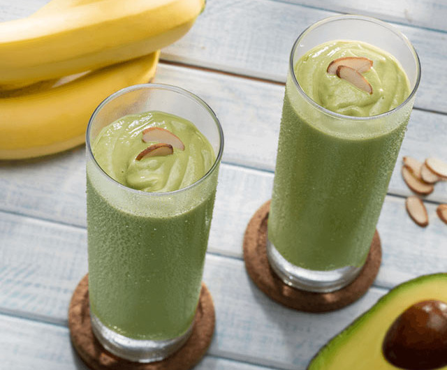 Banana And Avocado Smoothie
