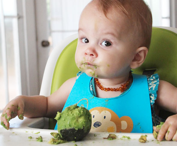 Oh Baby!: 9 Adorable Kids Eating Avocado