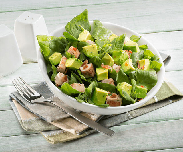 Spinach Salad With Tarragon Dressing