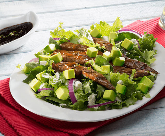 Beef Salad With Avocado And Basil
